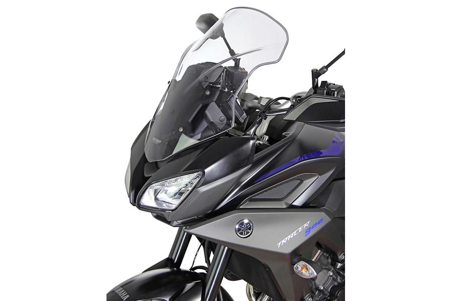【エムアールエー(MRA)】 スクリーンツーリング ブラック TRACER900/GT 18 ツーリングタイプ【PLMT275K】