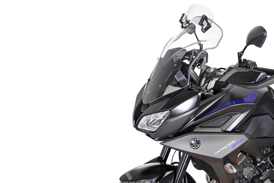 【エムアールエー(MRA)】 VARIO ヴァリオ ツーリング クリア TRACER900/GT 18年用 【PLMVT275C】