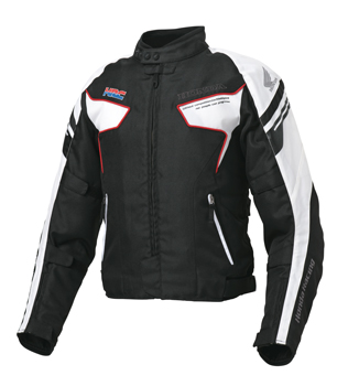【HONDA(ホンダ)】 グレイス ライダースジャケット(ホワイト)S~LLサイズ 【秋冬ジャケット】