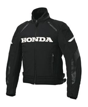 【HONDA(ホンダ)】 ブラックストームライダースジャケット(ブラック)3Lサイズ 【秋冬ジャケット】