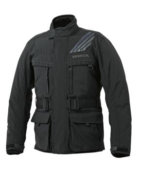 【送料無料】【HONDA(ホンダ)】 アドベンチャージャケット(ブラック、グレー)S~Lサイズ 【秋冬ジャケット】