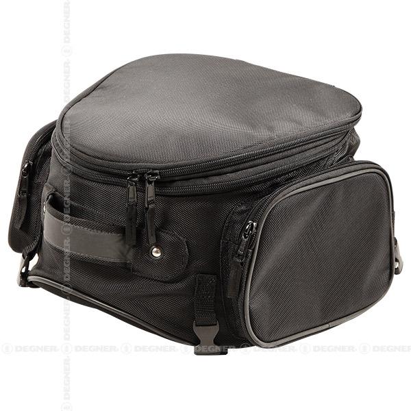 【送料無料】【DEGNER(デグナー)】 アジャスターシートバッグ/ADJUSTER SHEET BAG(ブラック) [NB-120-BK] 【WEB正規代理店】
