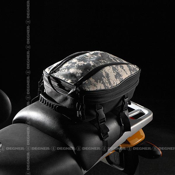 【DEGNER(デグナー)】 アジャスターシートバッグ/ADJUSTER SHEET BAG(デジカモ) [NB-128-DGCM] 【WEB正規代理店】