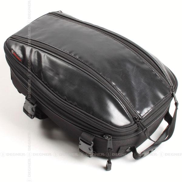 【4524486060090】【送料無料】【DEGNER(デグナー)】 シートバッグ/SHEET BAG(ブラック) [NB-95-BK] 【WEB正規代理店】