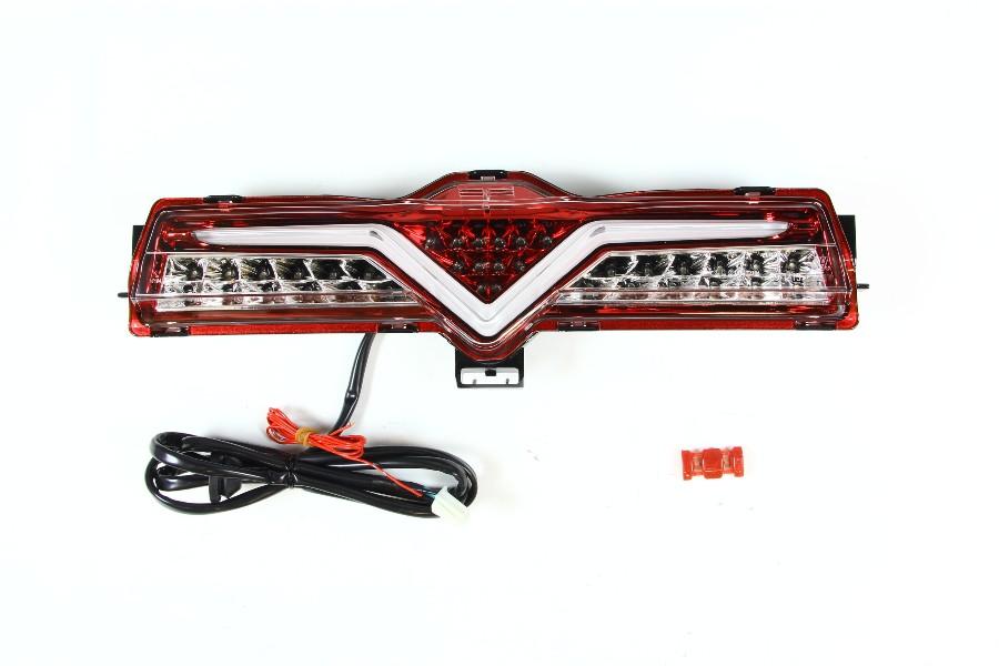 【ヴァレンティ(VALENTI)】 VALENTI LEDバックフォグ クリア/RDクローム 86/BRZ バックフォグ付車 【BFT86Z-CR-1】