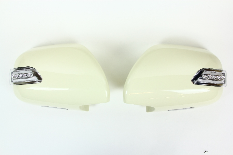 【ヴァレンティ(VALENTI)】 VALENTI LEDドアミラーウインカー ハイエース200系 クリア/BLU/YEL 【DMW-200CB-599】