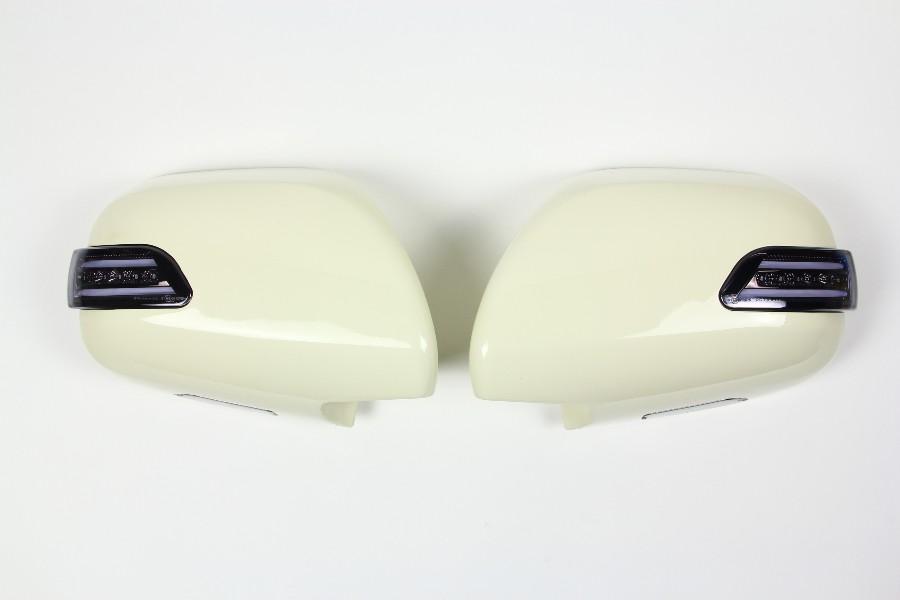 【ヴァレンティ(VALENTI)】 VALENTI LEDドアミラーウインカー ハイエース200系 ライトSM/WHT/YEL 【DMW-200SW-599】