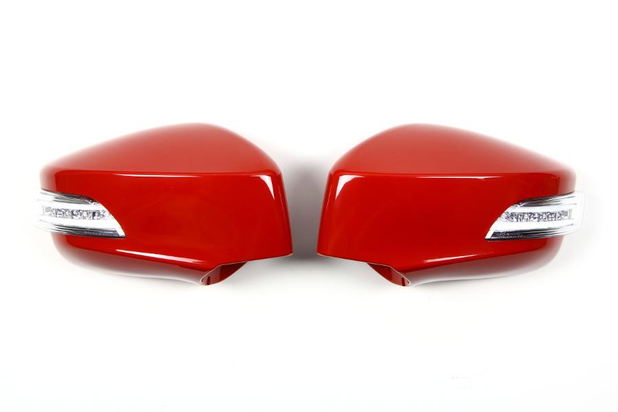 【ヴァレンティ(VALENTI)】 VALENTI LEDドアミラーウィンカー 86/BRZ クリア/WHT Rレッド 【DMW-86ZCW-C7P】