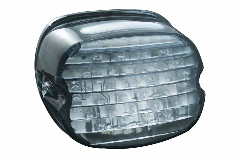 【4548916218714】【Kuryakyn(クリアキン)】LEDテールライトコンバージョン ライセンス スモーク/ロープロファイル 【PLKUR5438】