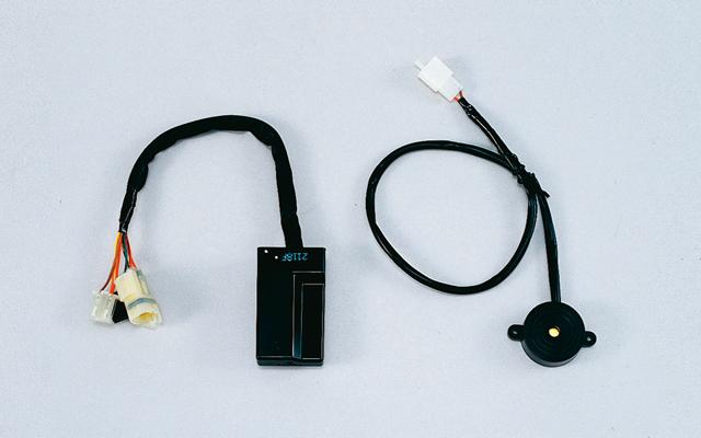 【ホンダ (HONDA)】 400X 19YM (2BL-NC56)用 アラーム+取付アタッチメント+インジケーターランプ セット 【取付セット一式】
