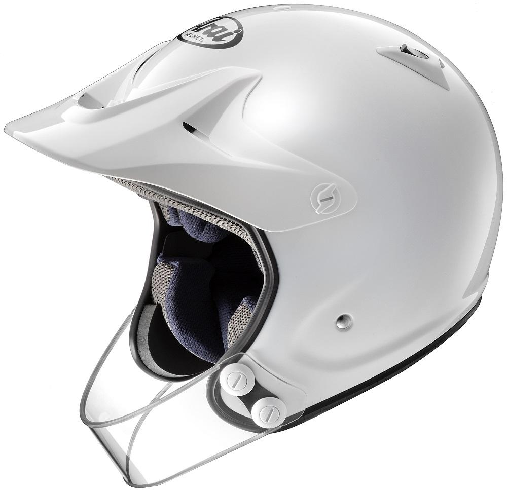 【4530935457878】【ARAI (アライ)】 オフロードヘルメット ハイパーT プロ 白 59-60cm 【HYPER T PRO】