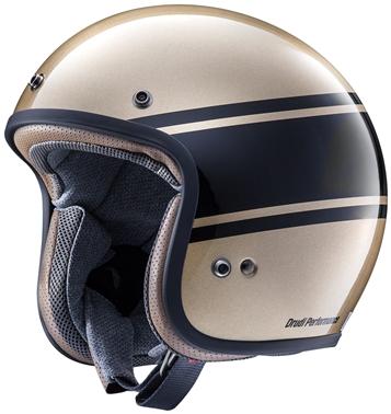 【4530935503926】【ARAI (アライ)】 ジェットヘルメット クラシックモッド バンデージ ブロンズ 59-60cm 【CLASSIC-MOD BANDAGE】