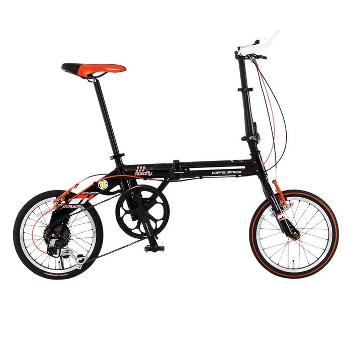 【4582143469099】【送料無料】【ドッペルギャンガー】 折りたたみ自転車 FALTRADシリーズ 111 ROADFLY 16インチ 軽量アルミフレーム採用モデル 折りたたみ寸法:795 × 530 × 360 mm 【代引き、日時指定配送不可】