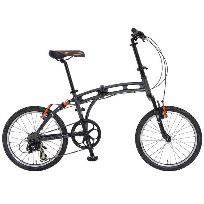 【4582143467910】【送料無料】【ドッペルギャンガー】 20インチ 折りたたみ自転車 BLACKMAXシリーズ 245 ZERO POINT パラレルツインチューブフレーム採用モデル  【代引き、日時指定配送不可】