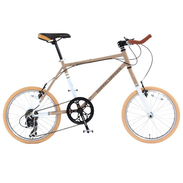 【4582143469273】【ドッペルギャンガー】 20インチ 折りたたみ自転車 260-GY BACKFLIPPERシリーズ PARCEIRO 独自開発折りたたみフレーム採用  【代引き、日時指定配送不可】