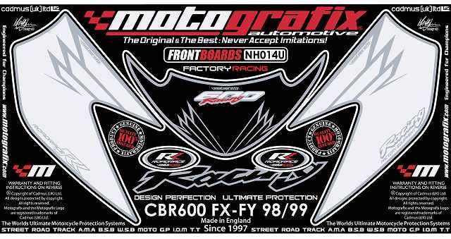 【送料無料】【モトグラフィックス・海外取り寄せ 約一か月】 【4580041204880】ボディパッド FRONT CBR600FX-FY 98/99 P084-0492【キャンセル不可商品です】