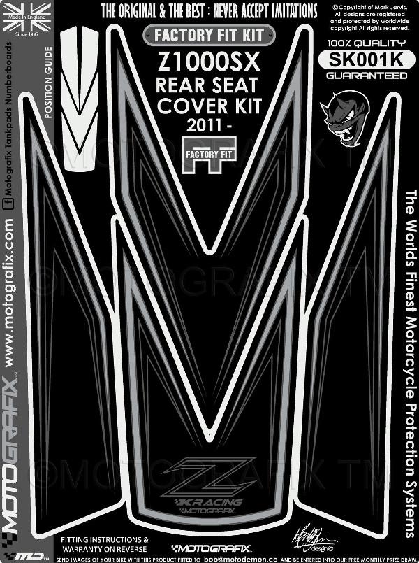 【送料無料】【モトグラフィックス・海外取り寄せ 約一か月】 【4580041209779】REAR SEAT COVER KIT    Ninja1000/Z1000SX 11-16 P084-0981【キャンセル不可商品です】