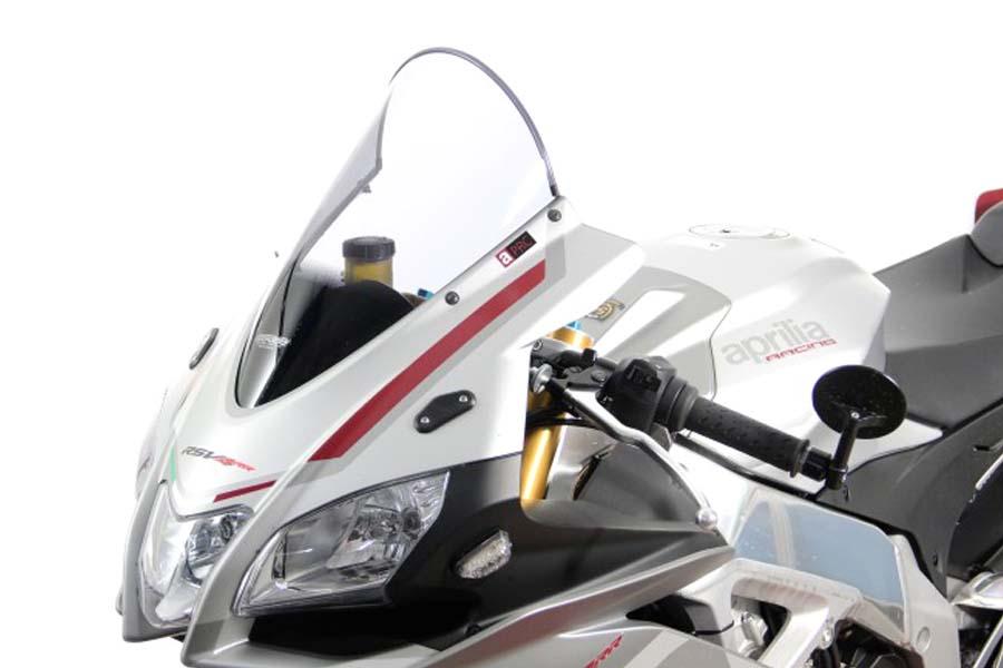 【MRA (エムアールエー)】 【4549950202011】 スクリーンレーシング クリア RSV4 RR/RF 15-19 MR762C