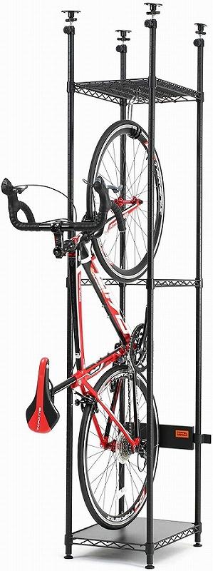 簡単設置 省スペース 自転車ディスプレイスタンド ドッペルギャンガー 供え 4589946143577 新作製品 世界最高品質人気 バイシクルハンガー 自転車スタンド DDS560-BK ディスプレイ dds560-bk スリム ブラック