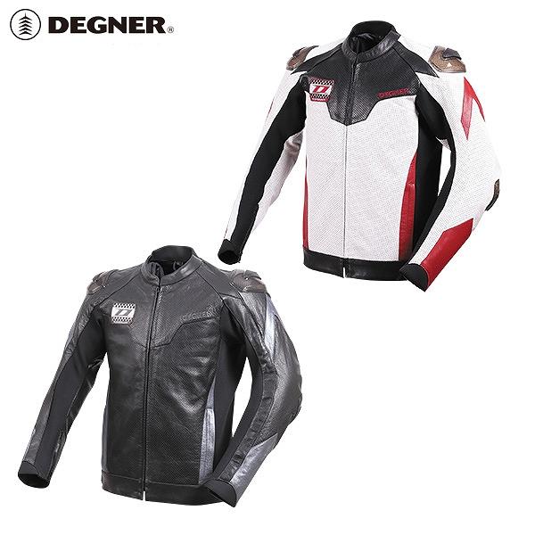 【送料無料】【デグナー(DEGNER)】 20SJ-4 レーシングジャケット 2色 【WEB正規代理店】