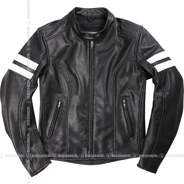 【送料無料】【デグナー(DEGNER)】 DG17SJ-3 レディースメッシュジャケット ブラック 【WEB正規代理店】