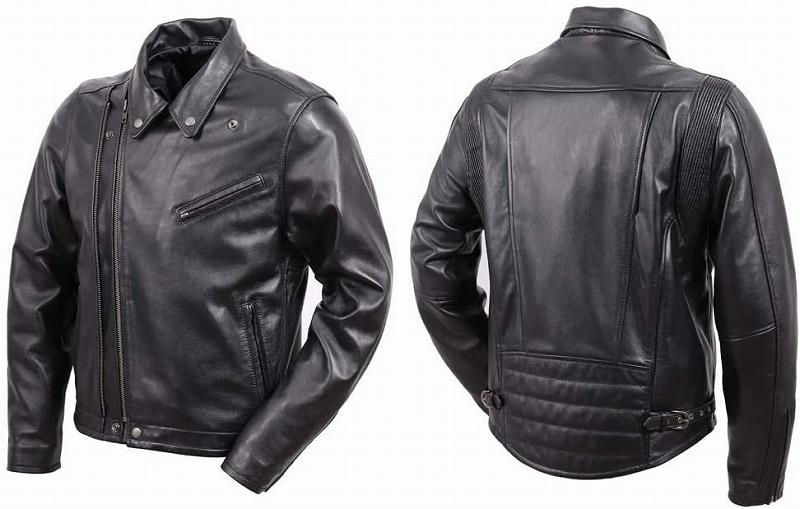 【送料無料】【デグナー(DEGNER)】 20SJ-8 レザーダブルジャケット ブラック 【WEB正規代理店】
