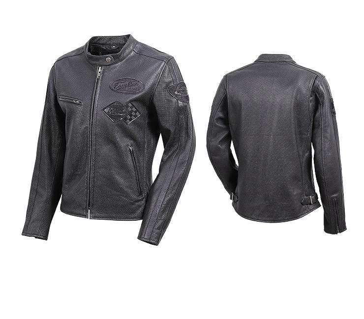 【送料無料】【デグナー(DEGNER)】 FR20SJ-13 レディスレザージャケット ブラック 【WEB正規代理店】
