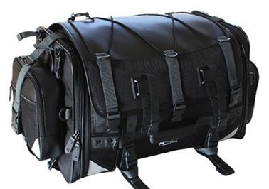 【[タナックス]】 MFK-102 キャンピングシート バッグ2 ブラック MFK-102【ツーリング・バッグ】