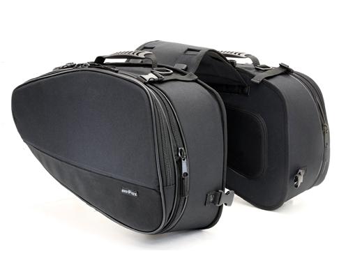【4510819104463】【タナックス】 MFK-187 マルチフィット サイドバッグL ブラック MFK-187【ツーリング・バッグ】