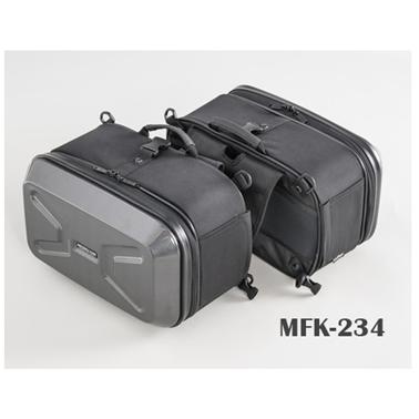 【4510819105187】【タナックス】 MFK-234 ミニシェルケース (ツーリング) カーボン柄 MFK-234【ツーリング・バッグ】