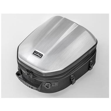 【4510819105255】【タナックス】 MFK-241 シェルシートバッグ GT ヘアラインシルバー MFK-241【ツーリング・バッグ】