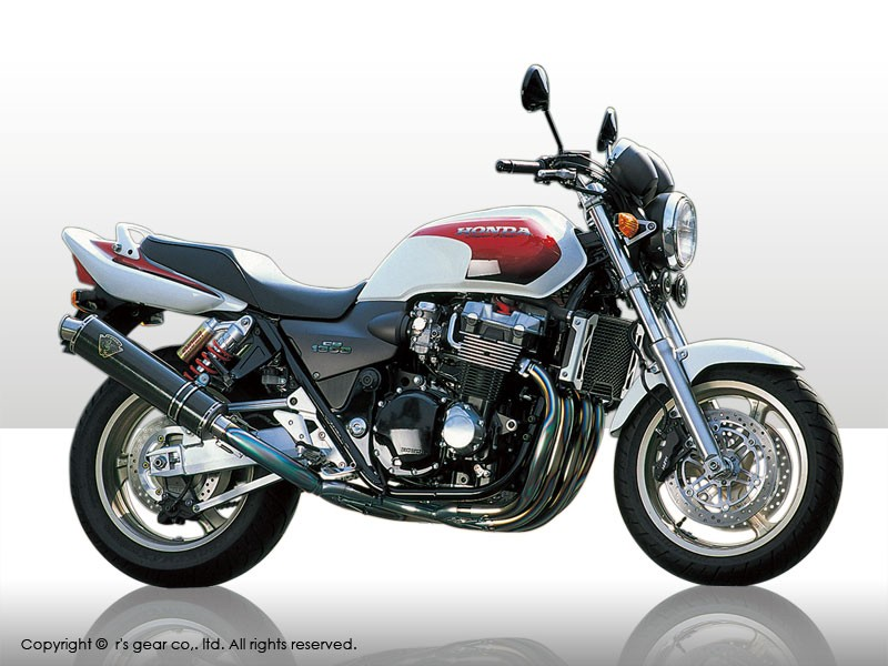 【送料無料】【代引不可】【r's gear】 アールズギア ソニック シングル DB CB1300SF -02 SH04-01DB 【4582329783186】