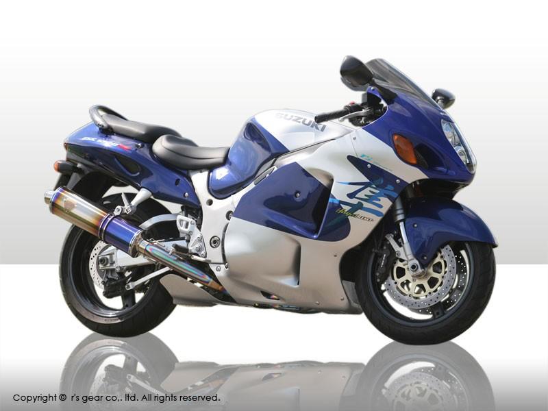 【送料無料】【代引不可】【r's gear】 アールズギア ワイバン ツイン カーボン GSX1300R -07 WS02-02CF 【4582329781595】