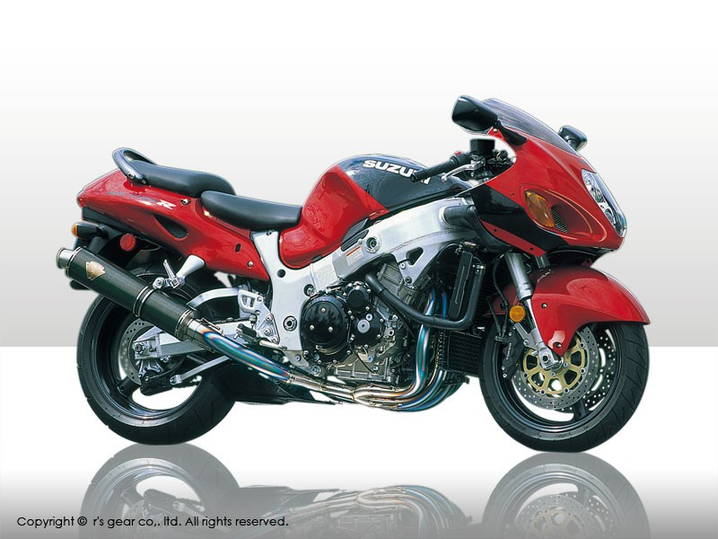 【送料無料】【代引不可】【r's gear】 アールズギア ワイバン シングル オーバルDB GSX1300R -07 WS02-01OD 【4582329781588】