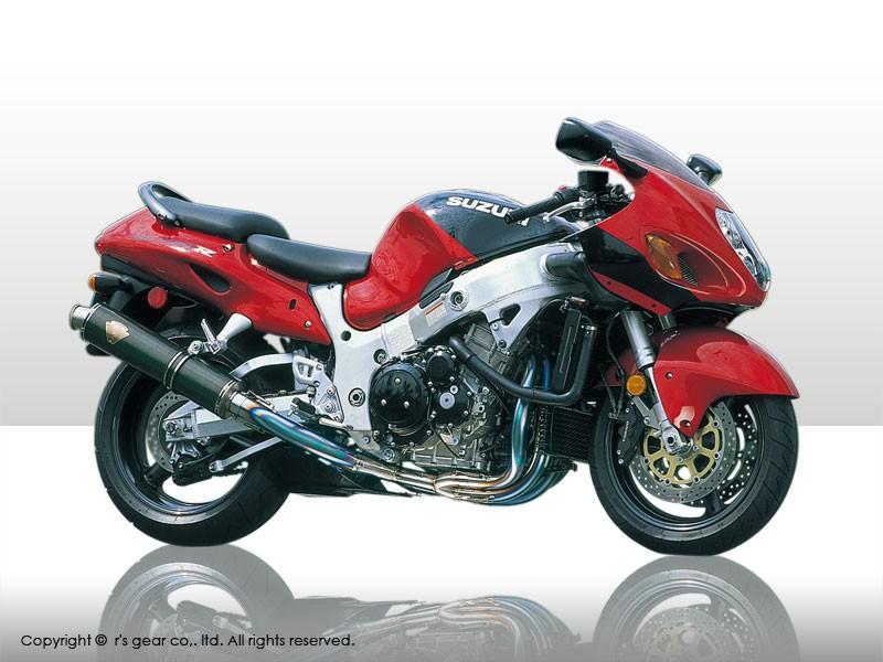 【送料無料】【代引不可】【r's gear】 アールズギア ワイバン シングル カーボン GSX1300R -07 WS02-01CF 【4582329781540】