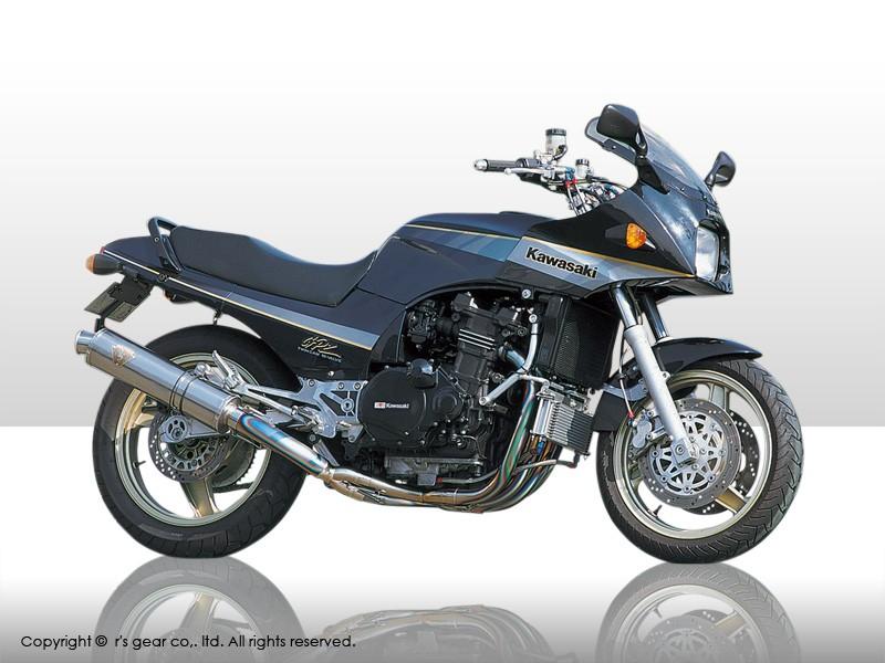 【送料無料】【代引不可】【r's gear】 アールズギア ワイバン シングル Sタイプ DB GPZ900R WK02-STDB 【4582329782011】