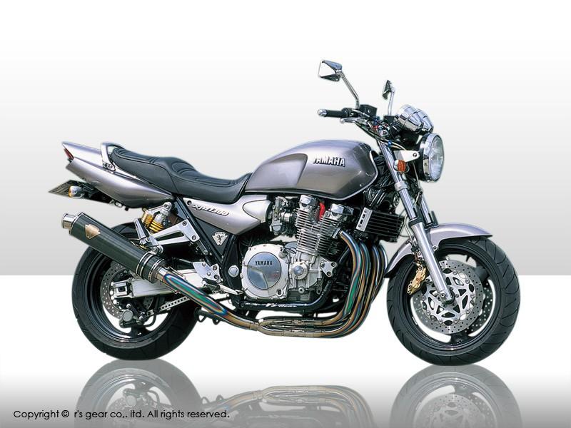 【代引不可】【r's gear】 アールズギア ワイバン 4-2-1 UPタイプ DB XJR1300/1200 -06 WY02-UTDB 【4582329781113】