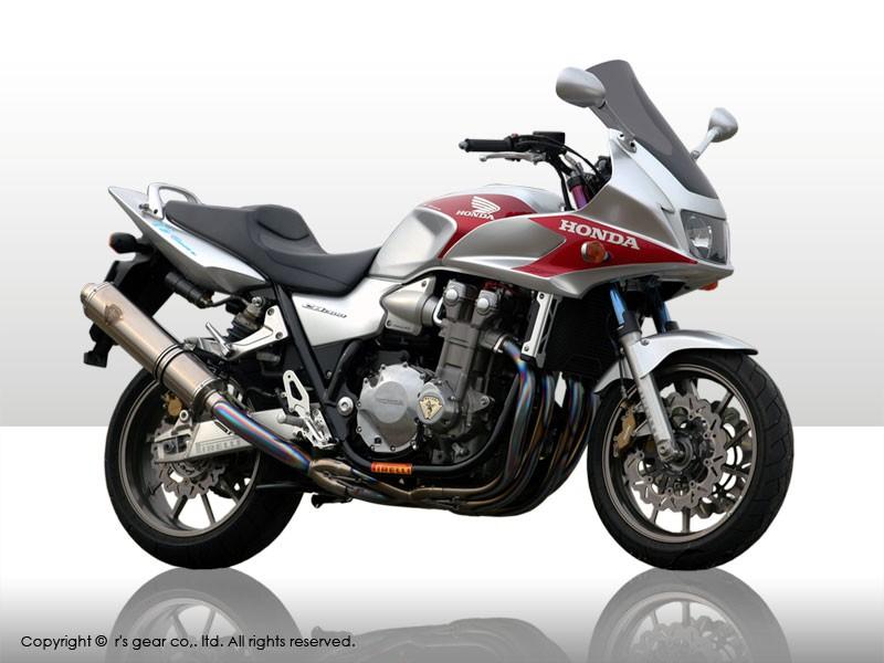 【代引不可】【r's gear】 アールズギア ワイバン シングル DB CB1300SF 03-07 WH07-01DB 【4582329780482】