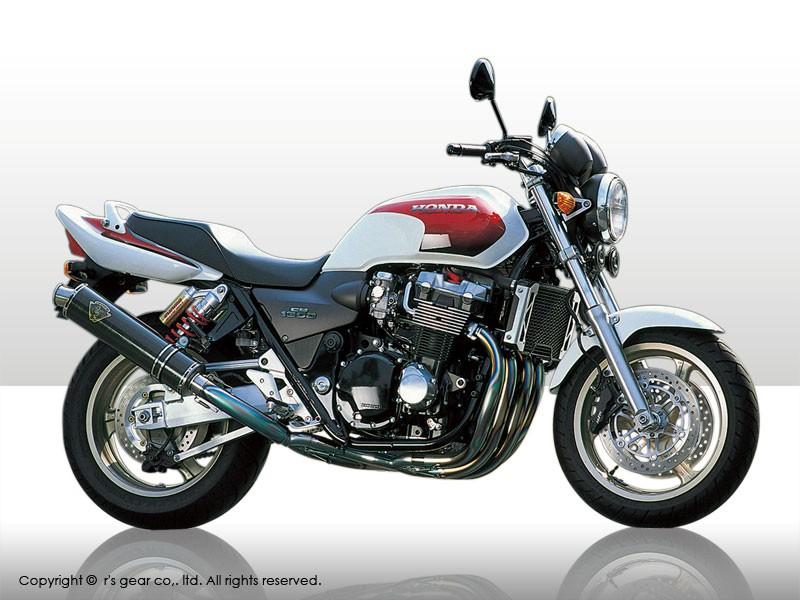 【代引不可】【r's gear】 アールズギア ワイバン シングル DB CB1300SF -02 WH04-01DB 【4582329780185】