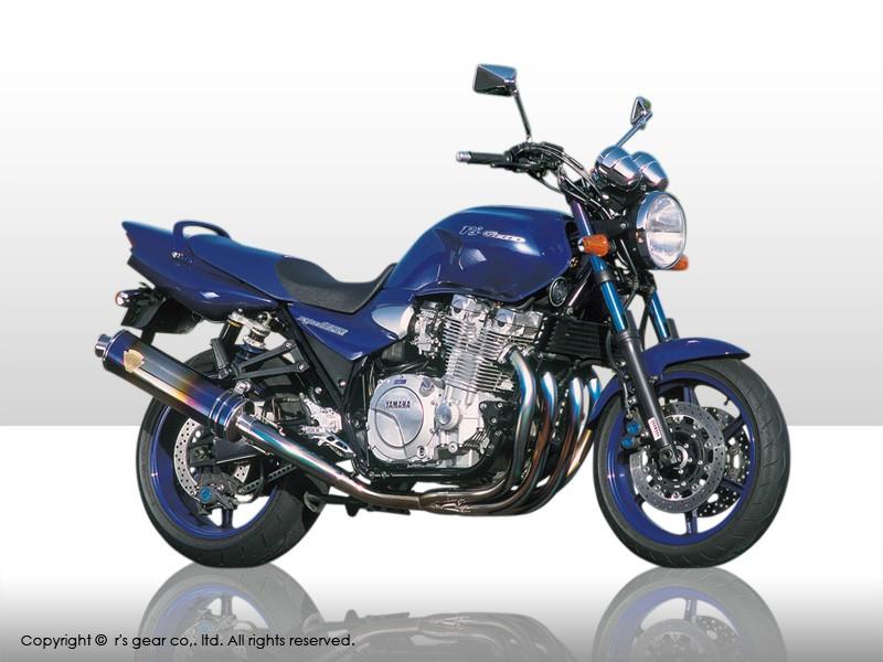 【代引不可】【r's gear】 アールズギア ワイバン 4-1 Sタイプ オーバルDB XJR1300/1200 -06 WY01-STOD 【4582329780789】