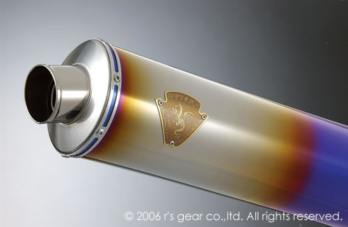 【送料無料】【代引不可】【r's gear】 アールズギア ワイバン S/O オーバルDB GSX1300R -07 WS02-03OD 【4582329781687】