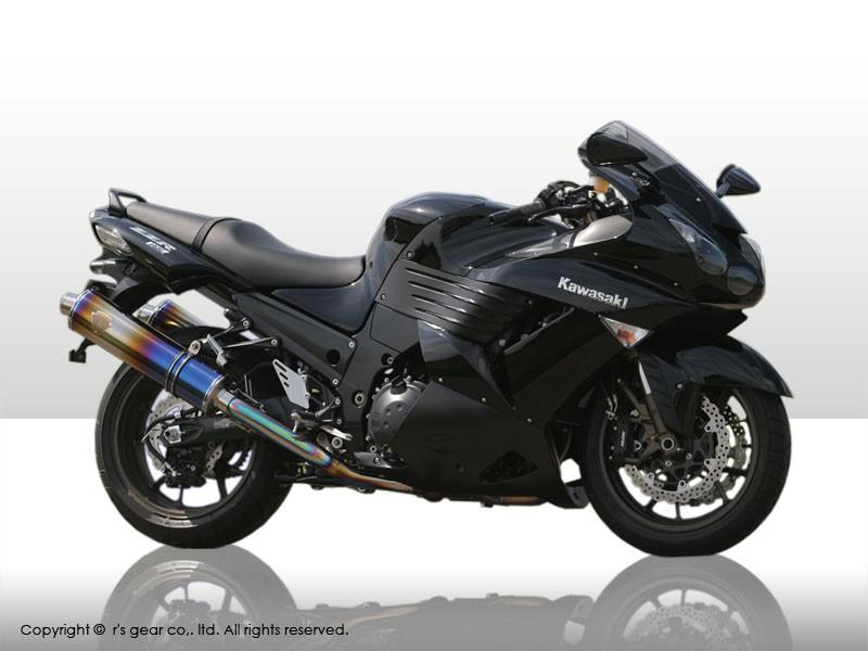 【代引不可】【r's gear】 アールズギア ワイバン ツイン カーボン ZZR1400 -07 WK09-02CF 【4582329782554】