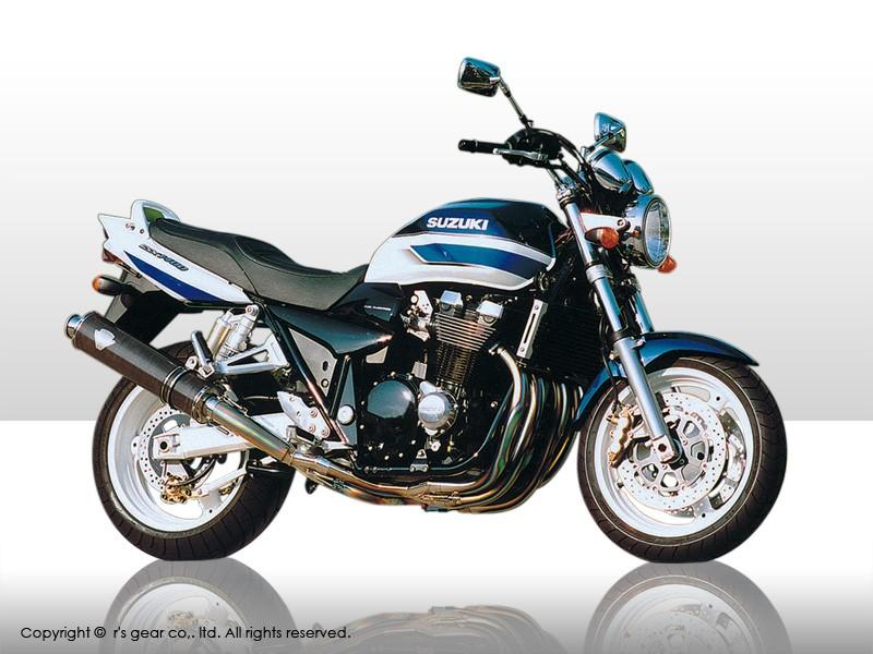 【代引不可】【r's gear】 アールズギア ワイバン シングル オーバルTI GSX1400 WS01-01OT【必ず購入前に適合・仕様をご確認下さい】 【4582329781472】