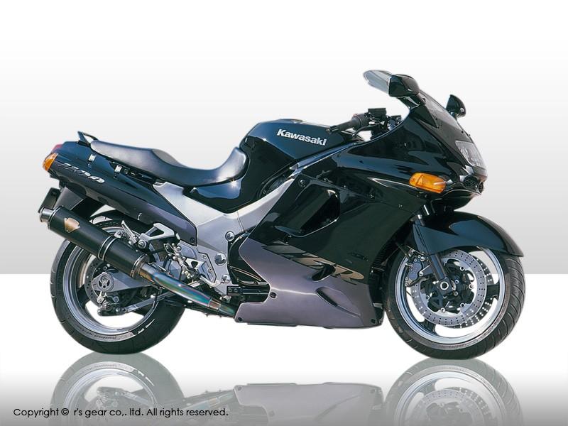 【代引不可】【r's gear】 アールズギア ワイバン ツイン TI ZZR1100 WK03-02TI【必ず購入前に適合・仕様をご確認下さい】 【4582329782103】