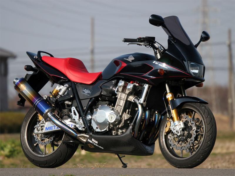 【代引不可】【r's gear】 アールズギア ワイバン シングル オーバルTI CB1300SF 03-07 WH07-01OT【必ず購入前に適合・仕様をご確認下さい】 【4582329780499】