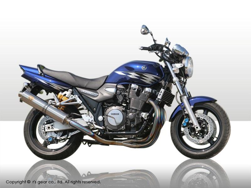 【送料無料】【代引不可】【r's gear】 アールズギア ワイバン シングル DB XJR1300 07- WY08-01DB 【4582329781168】