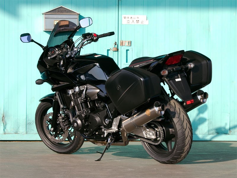 【送料無料】【代引不可】【r's gear】 アールズギア ワイバン ツイン DB CB1300ST 10- WH12-02DB 【4582329785630】