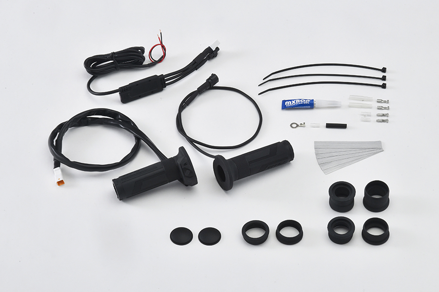 【4549950816003】【EFFEX】 グリップヒーター スイッチ一体型 φ22.2用 115/120/130mm  メーカー品番:EGH001 エフエックス