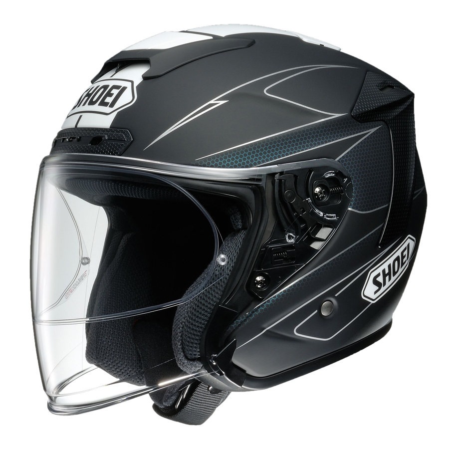 [SHOEI] J-FORCE4 MODERNO TC-5 BLACK/WHITE S ショーエイ[4512048453534]