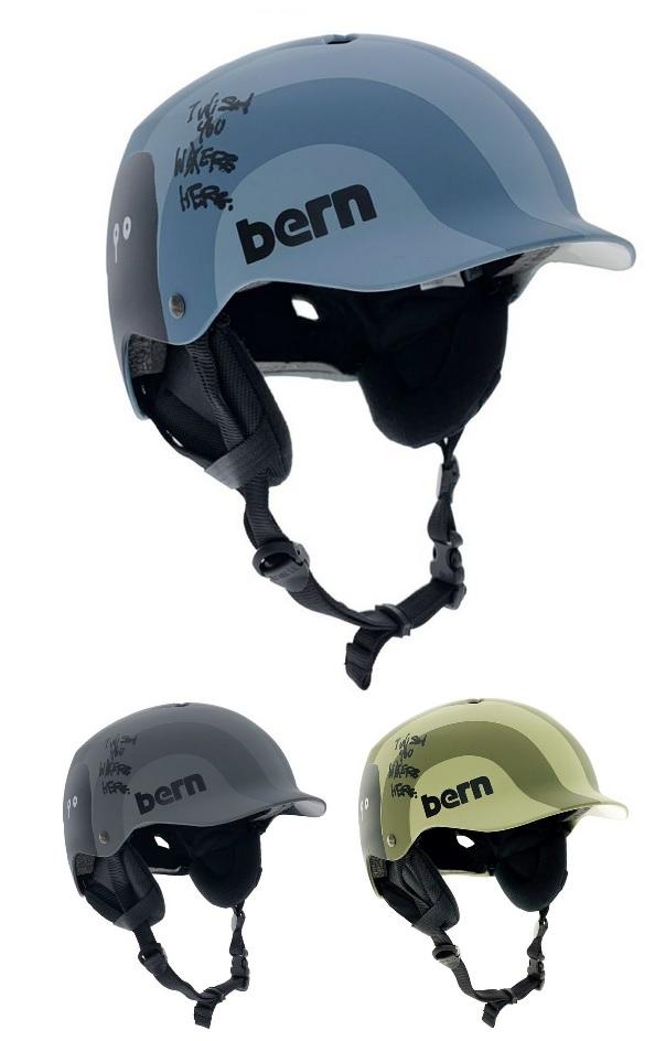 【送料無料】【Bern】 バーン(日本向けモデル)[神山隆二コラボモデル]WATTS(ワッツ)冬モデル 耳当て付き 全3色 大人用ヘルメット(S-XXXL) WATTS-K-W【国内正規品】